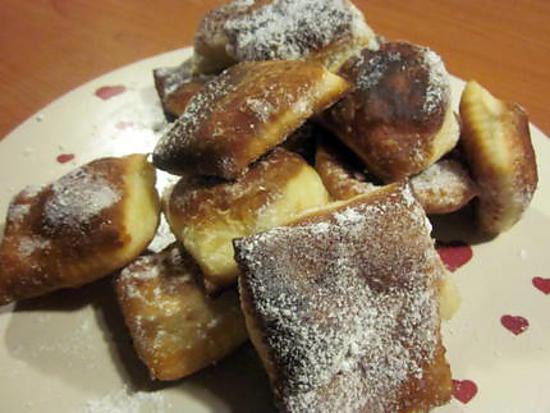 recette BEIGNETS DE CARNAVAL