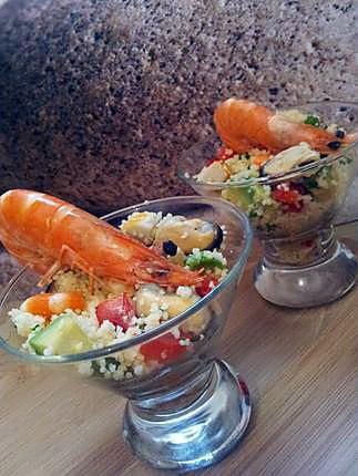 recette Taboulé de la mer