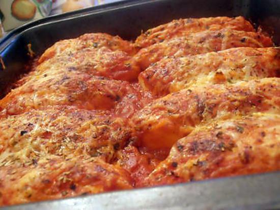 recette quenelles en sauce rouge