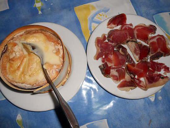 Recette de ma petite fondue vacherin mont d or - Temps cuisson mont d or ...