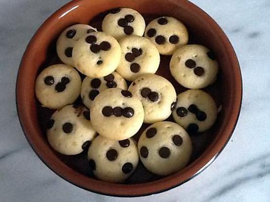 recette Muffins aux pépites de chocolat ( léger )