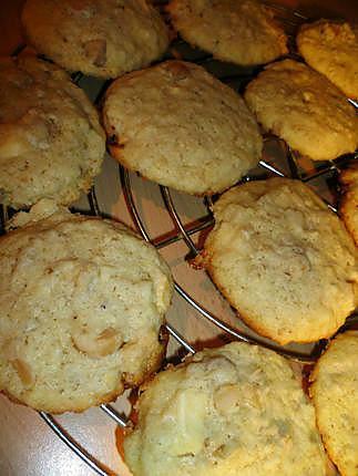 recette Cookies aux noix de macadamia