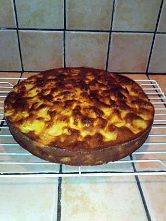 recette Clafoutis aux pommes, sucre roux et beurre salé
