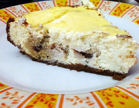 recette Cookie dough cheesecake