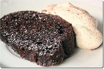 Gateau aux chocolat 1 oeuf