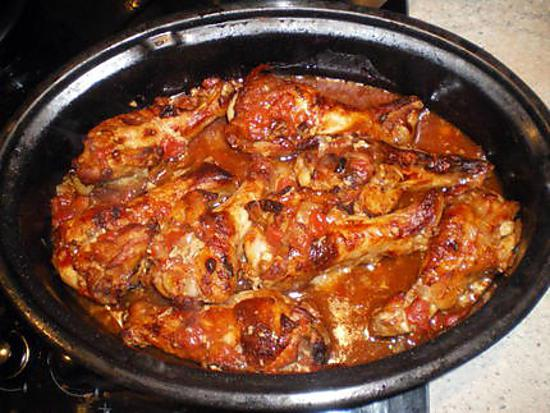 recette de pilons de poulets a la tomate