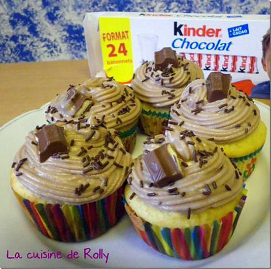 Recette De Cupcakes Au Kinder