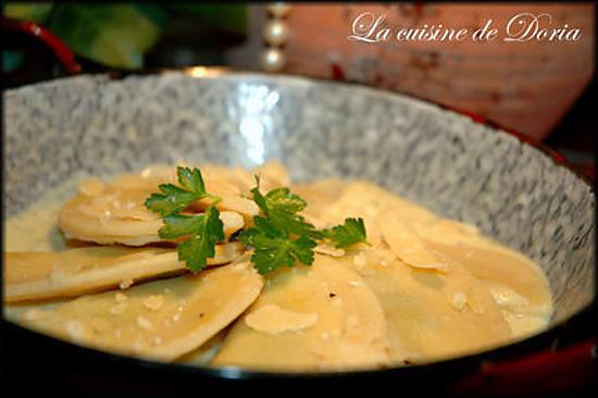 recette Raviolis au Pesto de Ligurie, épinards et ricotta