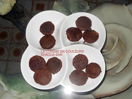 recette Petits gâteaux au chocolat