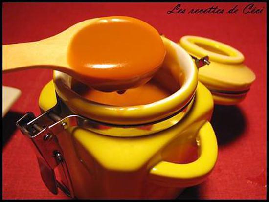 recette Caramel au beurre salé appelé Salidou