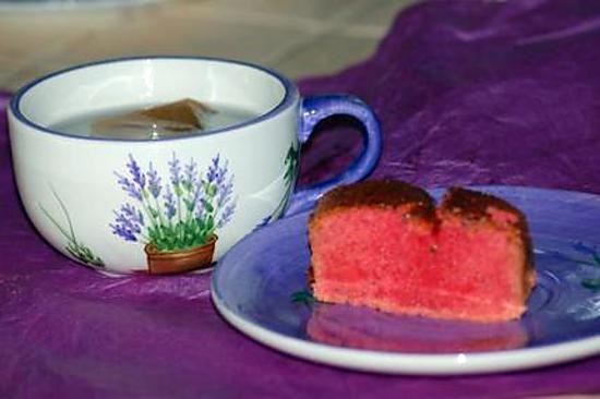 recette Cake aux Fraises Tagada ®