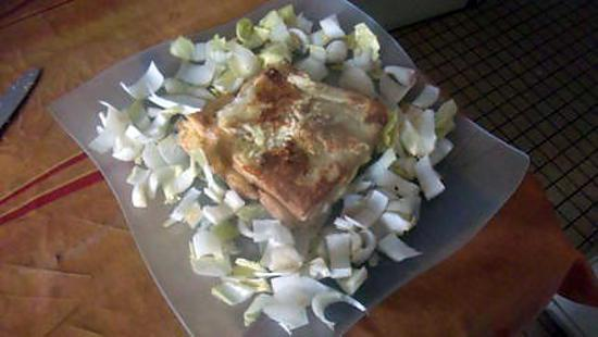 recette croque salade