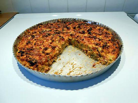 recette de quiche sans p 226 te aux carottes poireaux bacon et muscade