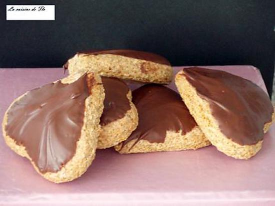 recette Petits pains d'épices allemands au chocolat