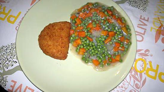 Recette de petits pois carottes - Cuisiner petit pois en boite ...