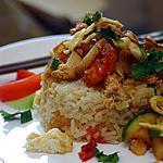 recette Riz frit thaï (Kow Pad)