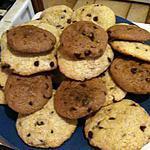 Cookies au amande et au pépite de chocolat