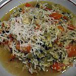 recette Brodo di riso alla stracciatella