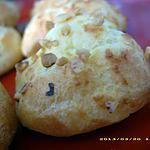 recette chouquettes aux pépites de nougatine