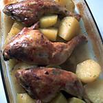 recette Cuisse de poulet... recette ma belle Truffe...