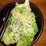 recette Salade de laitue aux échalotes
