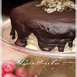 recette ~Gâteau au chocolat Miracle Whip, glaçage à l'orange et sa ganache au chocolat~