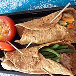 recette Wraps ou tortillas au blé complet sans oeuf