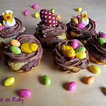 recette Cupcakes de Pâques aux trois chocolats