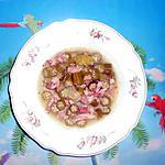 recette SOUPE DE GOMBO AU LARDON