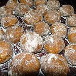 recette Biscuits de la mariée (recette mexicaine)