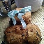 recette Cookies sans oeufs ni beurre au pépites de chocolat au lait et amandes concassées