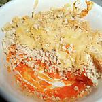Parmentier de poulet et purée de carottes
