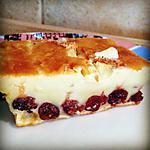 recette Clafoutis aux Cranberry