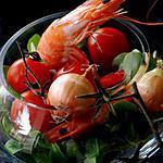 recette Salade de crevettes au tomate whisky