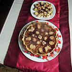 recette gateau pommes rhubarbe  mascarpone