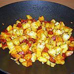 recette Wok de pommes de terre et chorizo