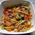 recette mes nouilles chinoises
