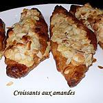 recette Croissants aux amandes