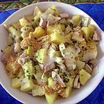 recette Pommes de terre cuisson rapide au boeuf et au fenouil