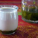 recette Yaourts à la confiture de Tomates vertes & Citron