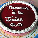 recette Bavarois à la fraise