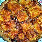 recette Tarte aux poireaux et au maroilles