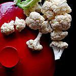 recette Chou fleur à la béchamel