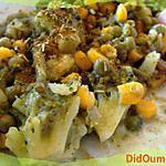 recette Poêlée de légumes à la noisette