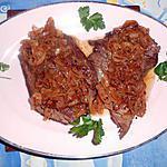 recette Bavette d aloyau à l échalote