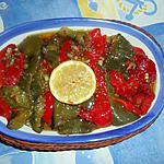 recette Poivrons marinés a l origan