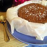 recette CheeseCake Chocolat & Noix de Coco
