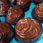 recette Cupcake « LE basique chocolat » - glaçage chocolat
