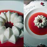 recette panna-cotta au coulis de groseille