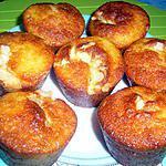 recette Muffins aux amandes craquantes....